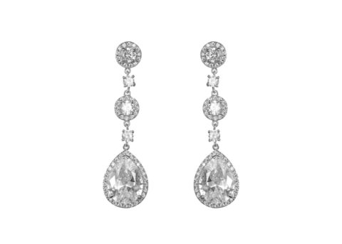 LUCIA Crystal Drop Earrings