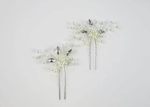 METANAH Pearl Hair Pins